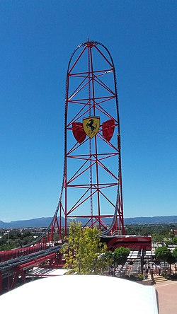 Red Force Roller Coaster Wikipedia
