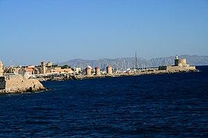 Rhodos port 1