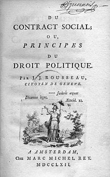 L'homme Est Né Libre Et Partout Il Est Dans Les Fers : l'homme, libre, partout, Social, Contract, Wikiquote