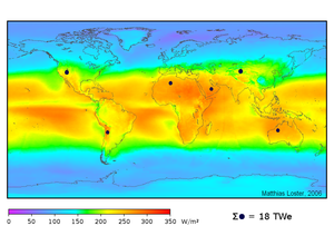 English: Solar areas defined by the dark disks...