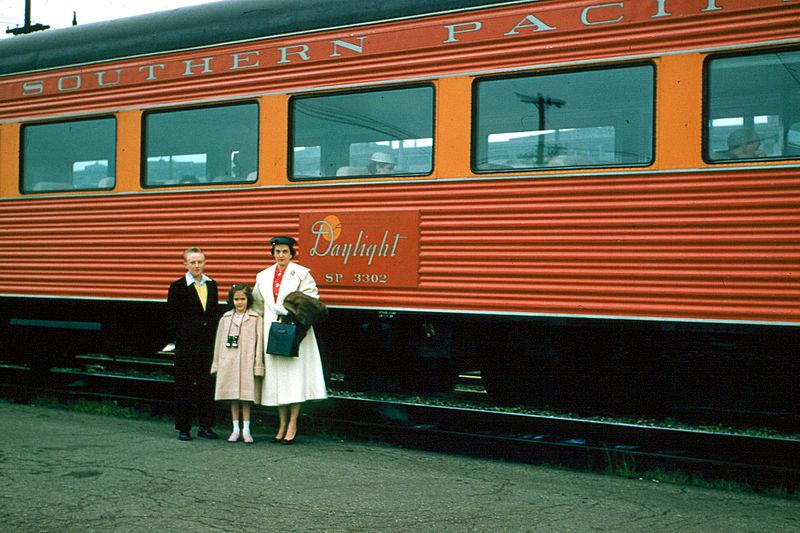 FileSouthern Pacific Railroad Coast Daylight Coach 1956