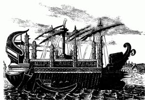 English: Roman Ship