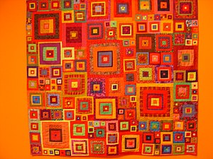 American quilt, taken in Textile Museum of Can...