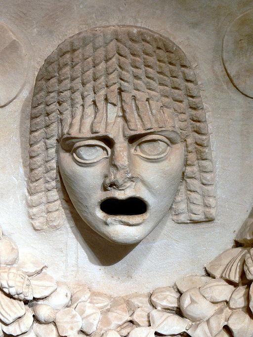 Antalya Museum - Sarkophag 8a Maske