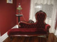 Fainting Sofa Fainting Couch For Bisque Doll Red Tag Item