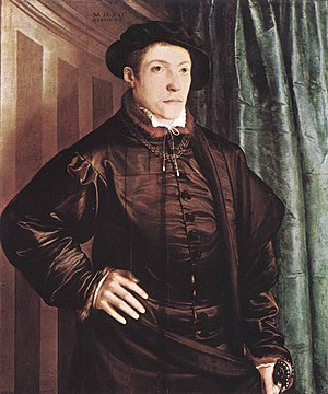 Christoph Fugger, by Christoph Amberger, 1541 ...