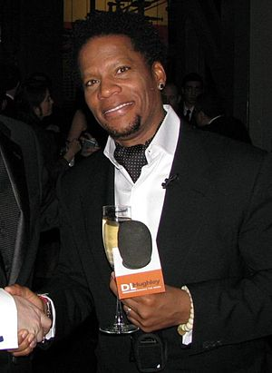 D. L. Hughley, an American actor and stand-up ...