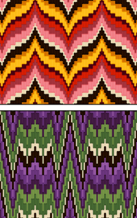 pillows for chairs target dining bargello (needlework) - wikipedia