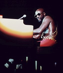 Isaac Hayes, photographie de John H. White, 1973