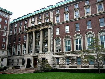 English: Columbia Journalism School building; ...