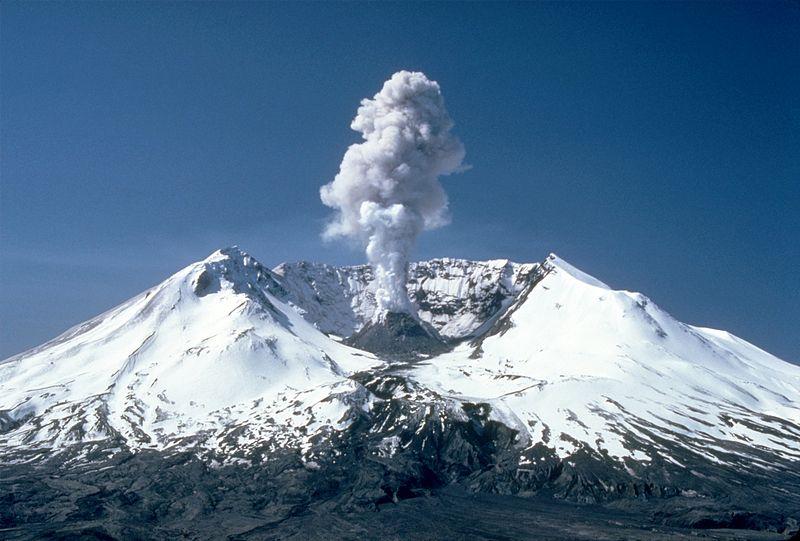 Mount St. Helens, volcano