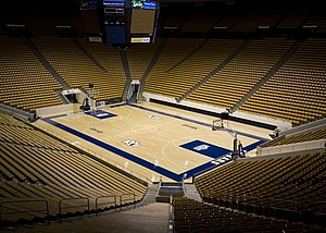 Marriott Center at Brigham Young University.