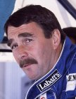 Nigel Mansell at the 1991 United States Grand ...