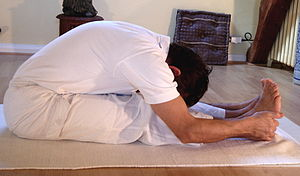 Yoga postures Paschimottanasana