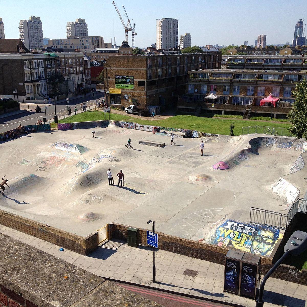 Stockwell Skatepark  Wikipedia