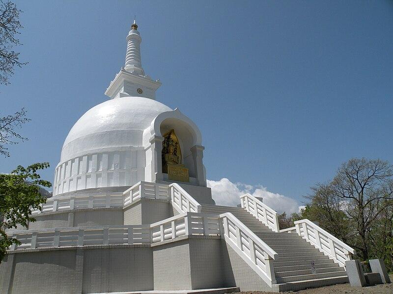 File:The Sapporo Peace Stupa.JPG