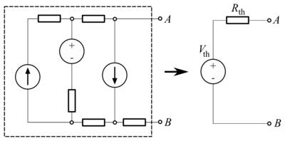 Fundamental Physics/Electronics/Thévenin's Theorem