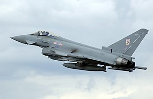 The Eurofighter Typhoon is capable of supercru...