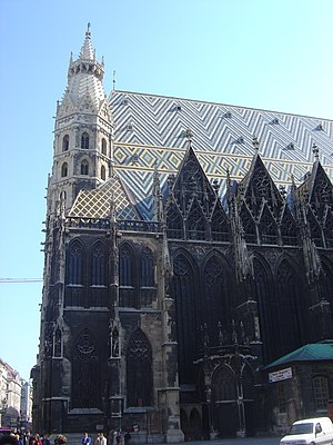 Stephansdom (St Stephen Cathedral), Vienna