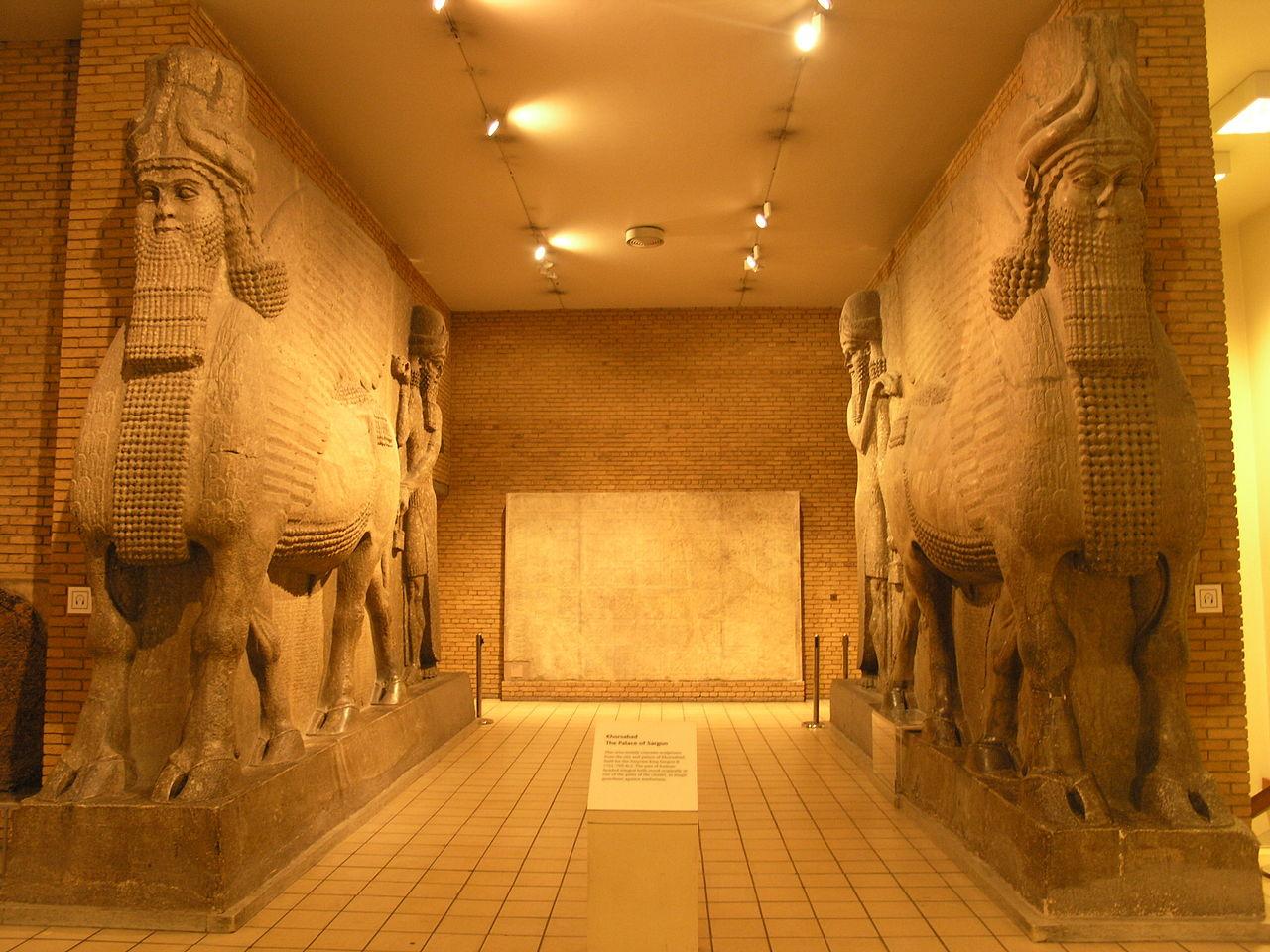 FileBM RM10  ANE Khorsabad Palace Reliefs and Assyrian