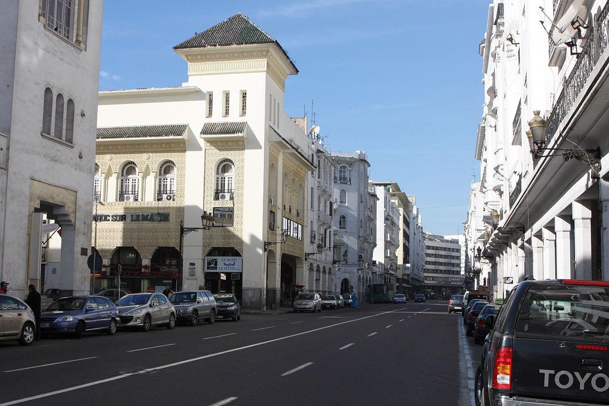 Boulevard MohammedV Casablanca  Wikipdia