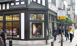 Liberty store on Great Marlborough Street