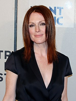 Julianne Moore at the premiere of Savage Grace...