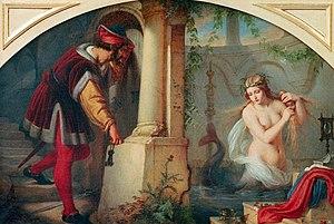 Deutsch: Julius Hübner 'Die schöne Melusine' 1844