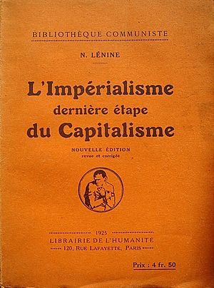 Une oeuvre majeure de Vladimir Lénine