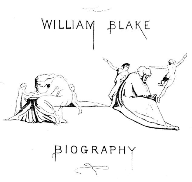 File:Life of William Blake (1880), volume 1, second title
