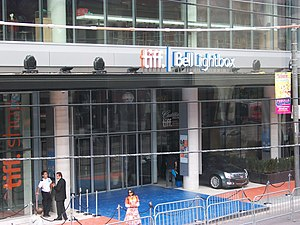 English: TIFF Bell Lightbox, one day before it...
