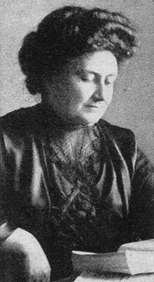 English: Portrait of Maria Montessori