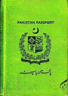 Pakistani passport  Wikipedia