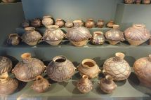 File Pots Yangshao Culture Neolithic China . 2600-2300