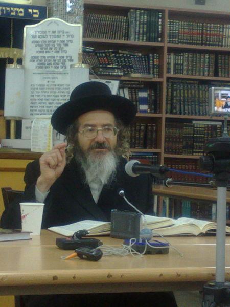 קובץ:Rabbi Israel Meir Brenner.jpg