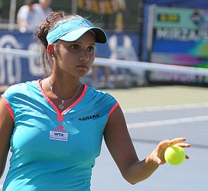 Sania Mirza in Citi Open Tennis on July 31, 2011