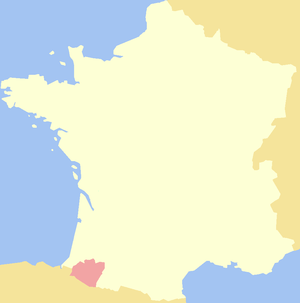 Viscounty of Béarn.