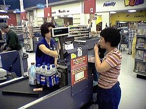 Wal-Mart checkout