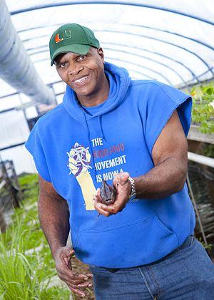 Photo of Will Allen of Growing Power taken in ...