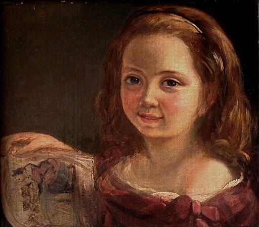 Ada Lovelace child portrait Somerville College