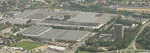 Aerial photography of Fiat Auto Poland (specia...