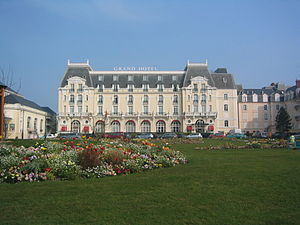 Le grand hôtel de Cabourg (Calvados, France) o...