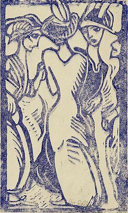 Christian Rohlfs Drei Frauen