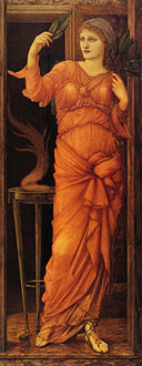 Edward Burne-Jones - Sibylla Delphica, 1868