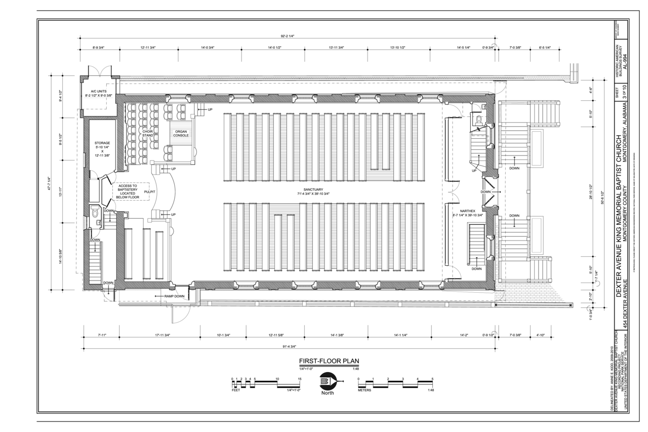 FileFirst Floor Plan Dexter Avenue King Memorial