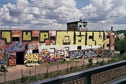 Arte quando l'asfalto si fa tela. Graffiti Wikiwand