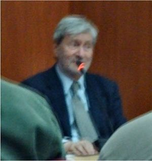 Gianni Vattimo speaking at Galassia Gutenberg ...