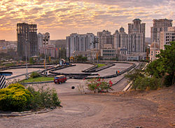 Hiranandani Complex in Powai is an upmarket area in the northern suburbs.