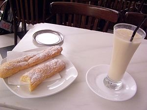 English: Horchata, a refreshing and delicious ...