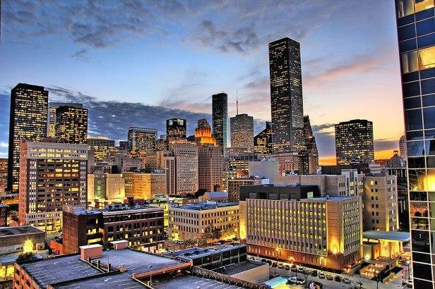 Houston night